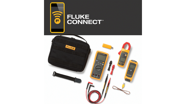 FLK-3000 FC HVAC Multimeter-Kit, Strom / Temperatur Fluke