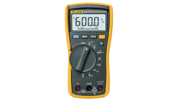 Fluke 115 True-RMS Digital Multimeter, CAT III 600V kaufen